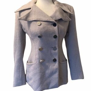 Annie Reva Vintage Fitted Double Breasted Blazer